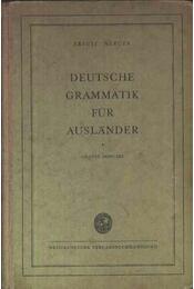 Deutsche grammatik für ausländer - Régikönyvek