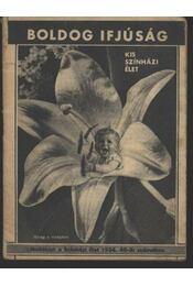 Kis Szinházi Élet 1934. 40. szám - Régikönyvek