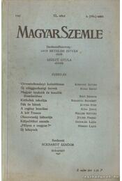 Magyar Szemle 1941. XL. kötet 2. (162.) szám - Régikönyvek