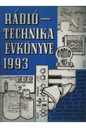 Rádiótechnika évkönyve 1993 - Régikönyvek