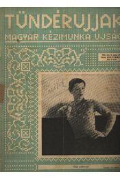 Tündérujjak 1932. szeptember VIII. évf. 9. szám - Régikönyvek