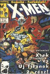 X-men 1995/6 október 27. szám - Régikönyvek