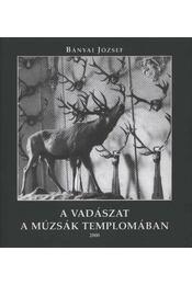A vadászat a múzsák templomában - Régikönyvek