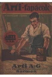 Arfi-fapácok a kézműipar céljaira - Régikönyvek