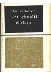 A Balogh család története - Régikönyvek