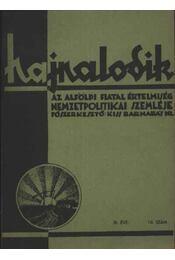 Hajnalodik - III. évf. 10. - Régikönyvek