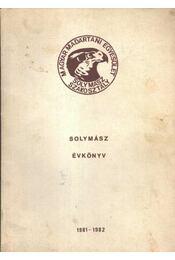 Solymász Évkönyv 1981-1982 - Régikönyvek
