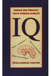 IQ Intelligencia tesztek - Régikönyvek
