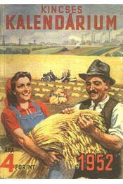 Kincses kalendárium 1952. - Régikönyvek