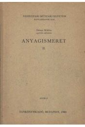 Anyagismeret II. - Régikönyvek