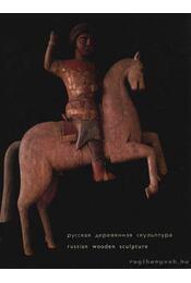Russian Wooden Sculpture - Régikönyvek