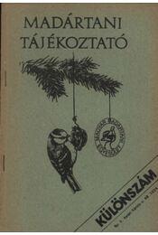 Madártani tájékoztató 1978. különszám - Régikönyvek