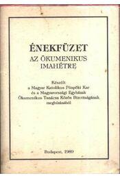 Énekesfüzet az ökumenikus imahétre - Régikönyvek