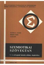 Szemiotikai szövegtan 1. I-II. kötet - Régikönyvek