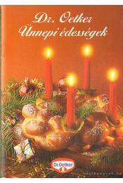 Dr. Oetker ünnepi édességek 1996/4 - Oetker dr. - Régikönyvek