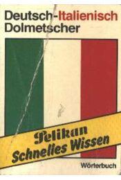 Deutsch-Italienisch Dolmetscher (mini) - Régikönyvek