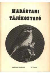 Madártani tájékoztató 1989. július-december 3-4. szám - Régikönyvek