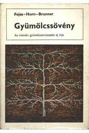 Gyümölcssövény - Régikönyvek