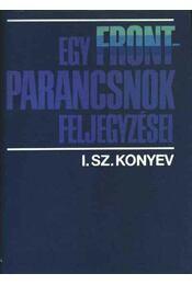 Egy frontparancsnok feljegyzései - Régikönyvek