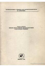 Borsod-Abaúj-Zemplén megyei szlovákok a kutatások tükrében (dedikált) - Régikönyvek
