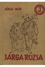 Sárga rózsa - Régikönyvek