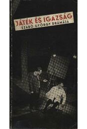 Játék és igazság - Régikönyvek