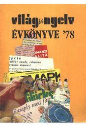 Világ és Nyelv Évkönyve '78 - Régikönyvek