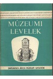 Múzeumi levelek 65-66. szám - Régikönyvek