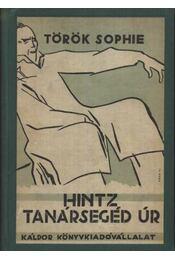 Hintz tanársegéd úr - Régikönyvek