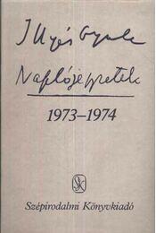 Naplójegyzetek 1973-1974 - Régikönyvek