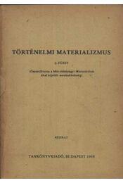 Történelmi materializmus - Régikönyvek