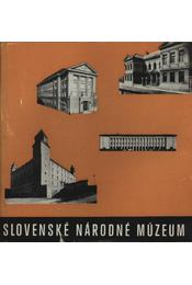Slovenské Národné Múzeum - Régikönyvek