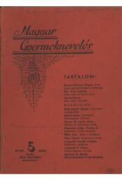 Magyar Gyermeknevelés IV. Évf. 5. sz. 1938. - Régikönyvek