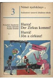 Hurra! Der Zirkus Kommt! Hurrá! Jön a cirkusz! - Régikönyvek