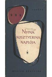 Nyina Kosztyerina naplója - Régikönyvek
