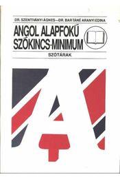 Angol alapfokú szókincs-minimum - Régikönyvek