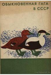 Pehelyréce a Szovjetúnióban (Обыкновенная гага в СССР) - Régikönyvek
