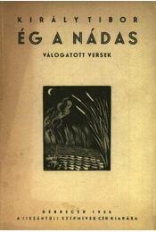 Ég a nádas (aláírt) - Régikönyvek