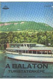 A Balaton turistatérképe - Régikönyvek