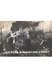 125 éves a magyar vasút - Régikönyvek