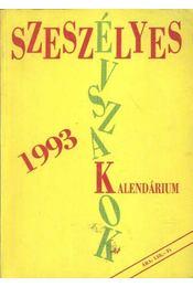 Szeszélyes évszakok kalendárium 1993 - Régikönyvek