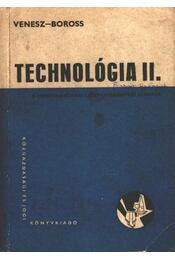 Technológia II. - Régikönyvek