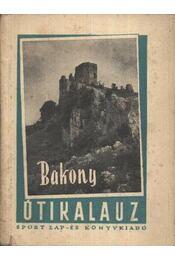 Bakony útikalauz - Régikönyvek