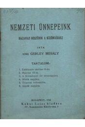 Nemzeti ünnepeink - Régikönyvek