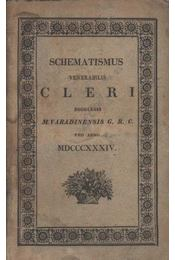 Schematismus venerabilis Cleri - Régikönyvek