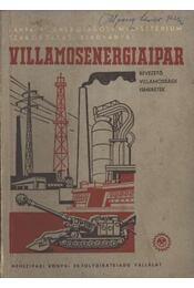 Villamosenergiaipar - Régikönyvek