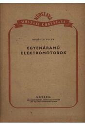 Egyenáramú elektromotorok - Régikönyvek
