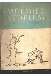 Műemlékvédelem 1959. 3. szám - Régikönyvek