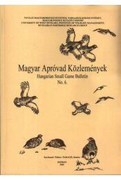 Magyar apróvad közlemények 6. - Régikönyvek