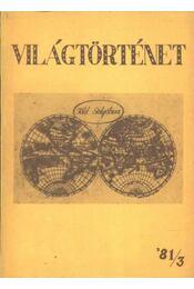 Világtörténet '81/3. - Régikönyvek
